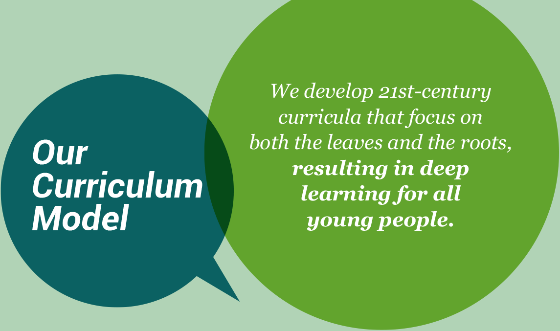 Our curriculum model